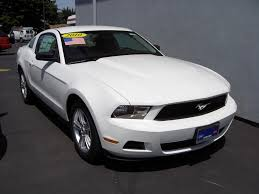 Performance White 2010 Ford Mustang Coupe - MustangAttitude.com ...