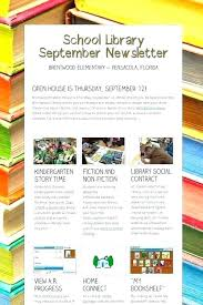 Classroom Newsletter Newsletters Monthly Or Weekly