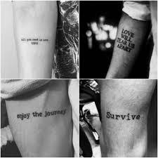 тату надпись для мужчин татуировки с надписями со смыслом