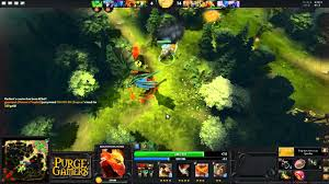dota 2 purge plays bounty hunter youtube