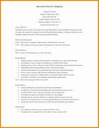 17 Free Resume Templates Word 2010 E Cide Com