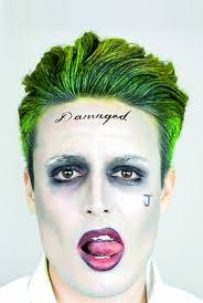squad joker makeup