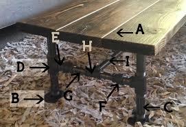 Diy Industrial Coffee Table Diy Industrial Coffee Table