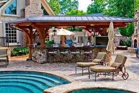 patio with pool. Unbelievable Backyard Patio With Pool Ideas Outdoor Lighting  . Breathtaking [