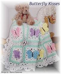 Baby Afghan Patterns Awesome Beautiful Butterfly Kisses Baby Afghan Crochet Pattern