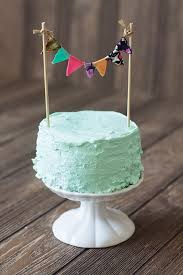 diy cake bunting from nous nous