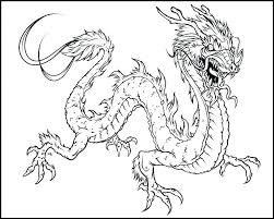 Printable Coloring Pages Of Dragons Realistic Dragon Coloring Pages