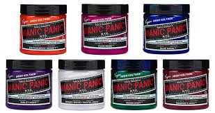 Manic Panic Hair Color Chart Manic Panic Hair Color Review Me