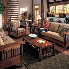 craftsman style living room furniture. Mission Living Room Furniture A With Throw Pillows Large Rug For Regarding Style Craftsman