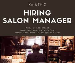 Salon Manager Salon Manager Kainth Consultants