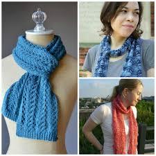 Easy Knit Scarf Pattern Free Interesting Inspiration Ideas