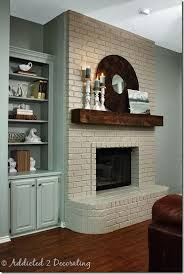 fireplace paint ideas25 best Painting a fireplace ideas on Pinterest  Agreeable gray