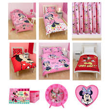 Minnie Mouse Stuff For Bedroom Minnie Mouse Bedroom Amp Bedding Accessories Ebay