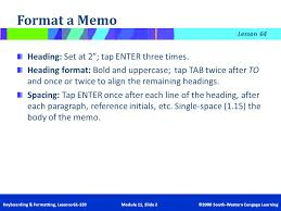 Memo Letter Letter Memo Mastery 11 Learning Outcomes Ppt Video Online Download