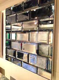 Tiles Design For Living Room Wall Amy Vermillion Interiors Beveled Antique Mirror Tile Finishes
