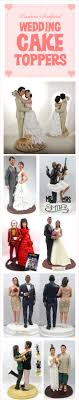 117 Best Unique Wedding Cake Toppers Images On Pinterest Cake