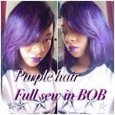 Purple Hair Style purple hair bob full sew in youtube 7471 by wearticles.com