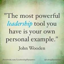 John Wooden Leadership Quotes Classy What A Powerful Quote By John Wooden The Most Powerful Leadership