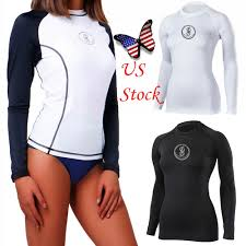 Designer Rash Guard Womens Mens Long Sleeve Rash Guard Swim Shirt Spf40 Surfing Swimsuit Swimwear