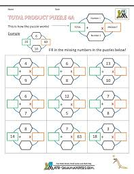 19 best Fourth Grade Math Puzzles images on Pinterest | Math ...