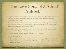 college application topics about the lovesong of j alfred the lovesong of j alfred prufrock essay