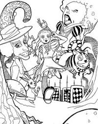 Small Picture DISNEY COLORING PAGES ALICE IN WONDERLAND COLORING PAGE disney