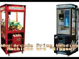 Arcade Vending Machines Inspiration Why Arcade Prize Vending Machines Are Rigged YouTube