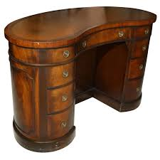 Custom Kidney Shaped Desk