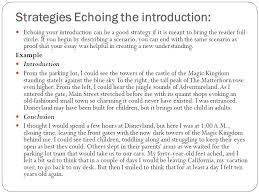the ending of your essay conclusions conclusions are often the strategies echoing the introduction echoing your introduction can be a good strategy if it is