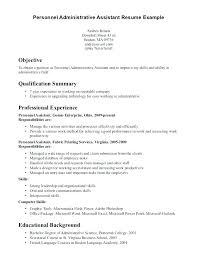 Administrative Assistant Skills Gorgeous Medical Administrative Assistant Sample Resume Fathunter