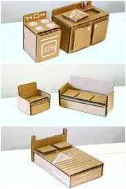 dollhouse furniture diy. Crafts A 3 Video Mini Tutorials Doll Barbie Dollhouse Furniture Diy .