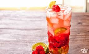 raspberry lime flavored water