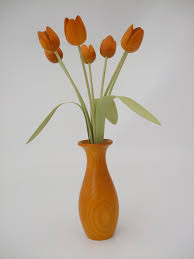 classic flower vase