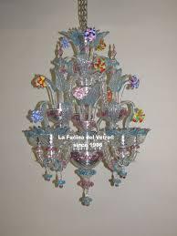murano glass chandelier minirezzonico glass paste