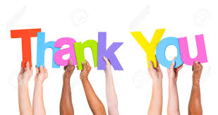 Word Thank You Multi Ethnic Group Of People Holding The Word Thank You Stock Photo