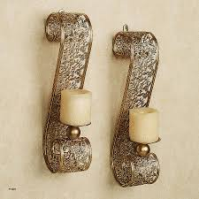 decorative wall sconces candle holders beautiful amazing wrought iron candle wall sconces all about home design