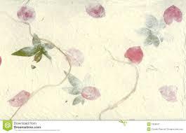 Flower Pressed Paper Pressed Flower Paper Background Stock Illustration