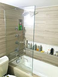 showers shower splash guard everything you need to know about glass bathtub menards