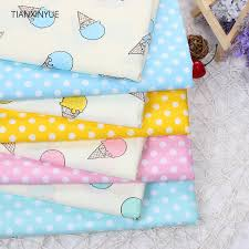 TIANXINYUE Ice cream fabric 95% Cotton Fabric quilting Baby Cloth ... & TIANXINYUE Ice cream fabric 95% Cotton Fabric quilting Baby Cloth Kids  bedding patchwork tissue Textile Adamdwight.com
