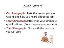 Cover Letter For Second Job Cover Letters Crafting Your Letter Second Paragraph Hotelodysseon Info