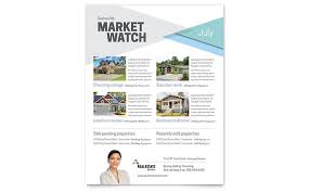 Microsoft Real Estate Flyer Templates Real Estate Flyer Templates Design Examples
