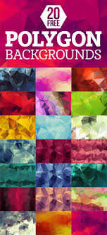 20 Free Geometric Polygon Backgrounds Download It Now