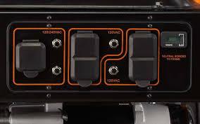 generac power systems 5500 watt gp series portable generator 5939 generac xg8000e carburetor at Generac Xg 8000 Wiring Diagram
