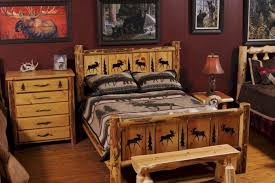 Pine Log Bedroom Furniture Rustic Bedroom Furniture Delivers Fantastic Styles Chatodining