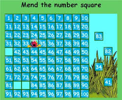 100 Square Maths Zone Cool Learning Games