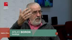 Risultati immagini per Atilio Boron