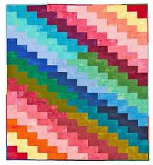 Rainbow Quilt Patterns | AllPeopleQuilt.com & Rainbow Zigzags Adamdwight.com