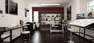 Small Picture Contemporary Home Office Design Home Design