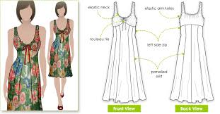 Sewing Patterns For Dresses Gorgeous Fun In The Sun With Sundress Patterns Style Arc