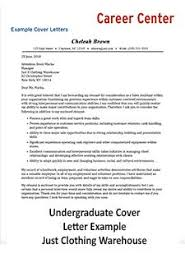Example Cover Leter Cover Letter Student Affairs